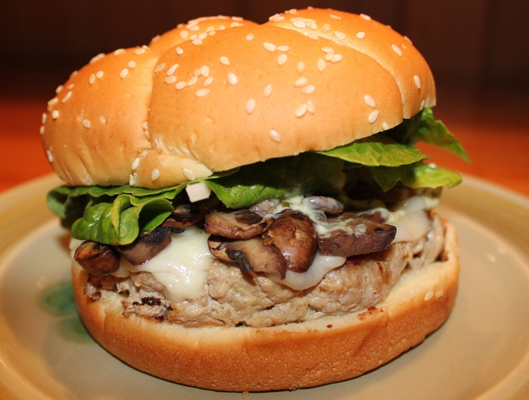 BLUE CHEESE AND MUSHROOM