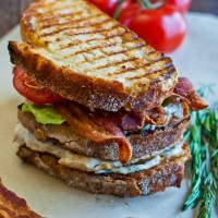 GRILLED CHICKEN CLUB